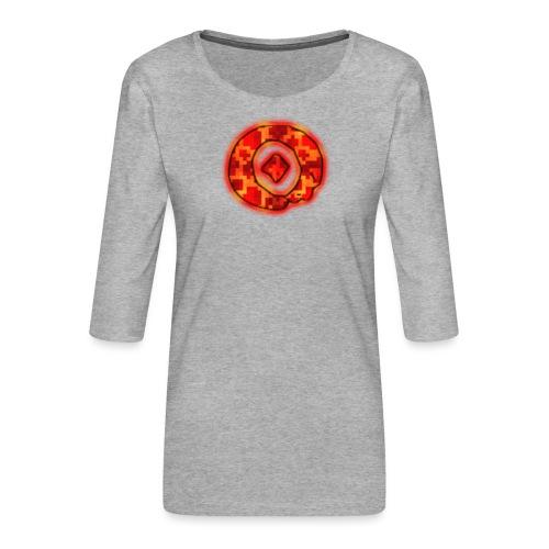 Omega O - Women's Premium 3/4-Sleeve T-Shirt