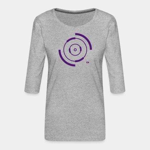 A-150 Spinner - Frauen Premium 3/4-Arm Shirt