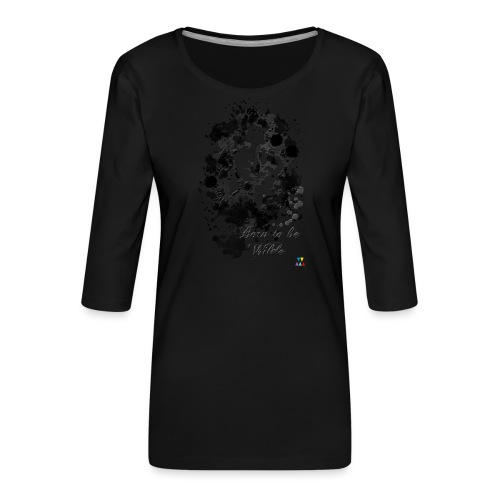 Born to be Wilde - T-shirt Premium manches 3/4 Femme