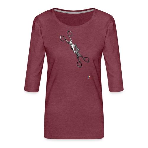 Scissor sisters - T-shirt Premium manches 3/4 Femme