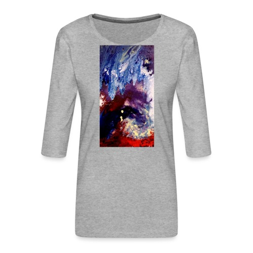 Ocean Vibes - Vrouwen premium shirt 3/4-mouw