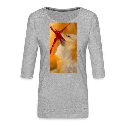 Shot? #2 - Vrouwen premium shirt 3/4-mouw