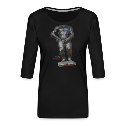 mannekenpis Real Big ♀♂ | 撒尿小童 - T-shirt Premium manches 3/4 Femme