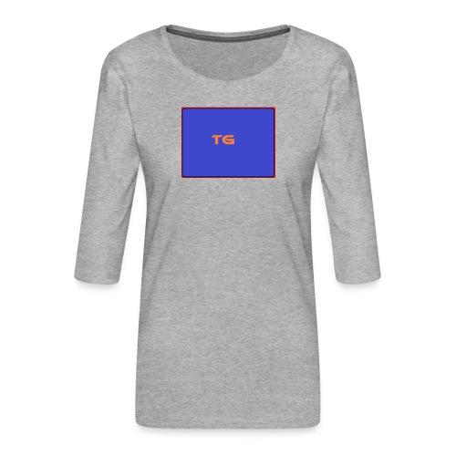tg shirt special - Vrouwen premium shirt 3/4-mouw