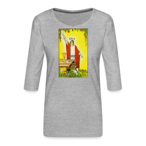 tarot - Vrouwen premium shirt 3/4-mouw