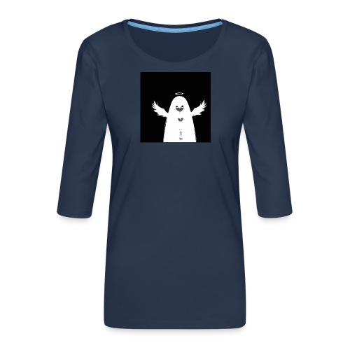 Angel Ghost - T-shirt Premium manches 3/4 Femme