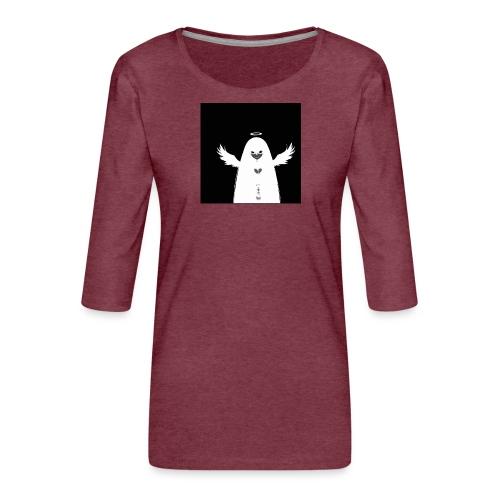 Angel Ghost - T-shirt Premium manches 3/4 Femme