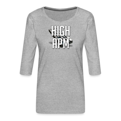 XpHighAPM - T-shirt Premium manches 3/4 Femme