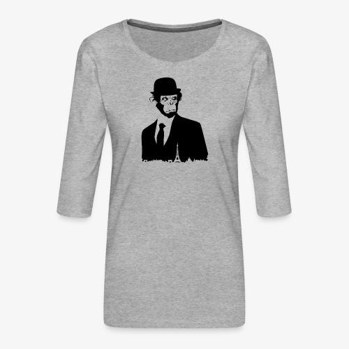 COLLECTION *BLACK MONKEY PARIS* - T-shirt Premium manches 3/4 Femme