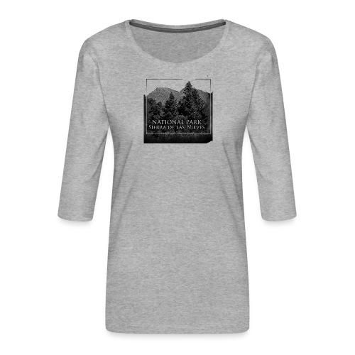 National Park Sierra de las Nieves - Camiseta premium de manga 3/4 para mujer