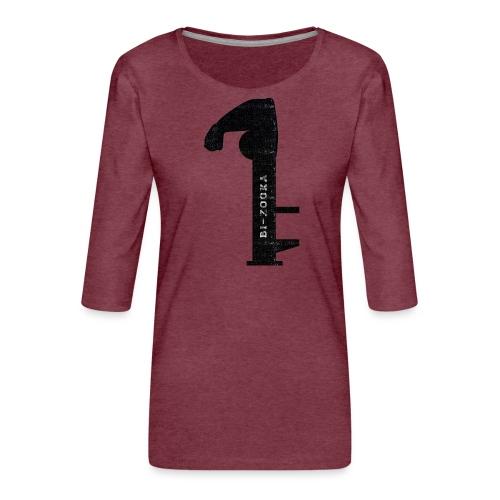 bi zooka - Dame Premium shirt med 3/4-ærmer
