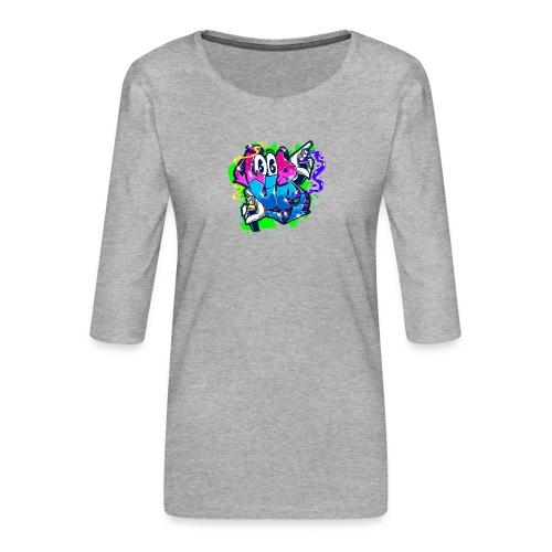 LOOP UP Street style - Frauen Premium 3/4-Arm Shirt