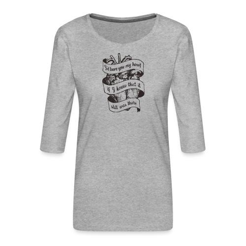Lost heart (En hyllning till The Dear Hunter) - Premium-T-shirt med 3/4-ärm dam