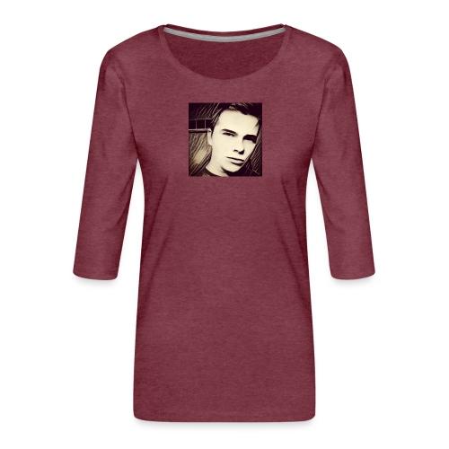 IMG_20161024_012001 - Women's Premium 3/4-Sleeve T-Shirt