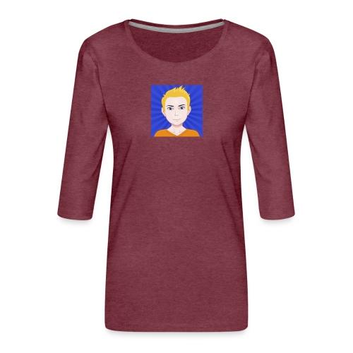 Sr Goku 2015 - Women's Premium 3/4-Sleeve T-Shirt