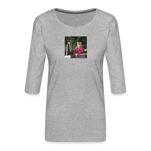 14484925 10209554910602420 3087937525797545518 n - Dame Premium shirt med 3/4-ærmer