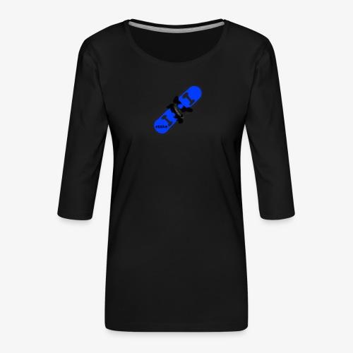 skateboard 512 - Dame Premium shirt med 3/4-ærmer