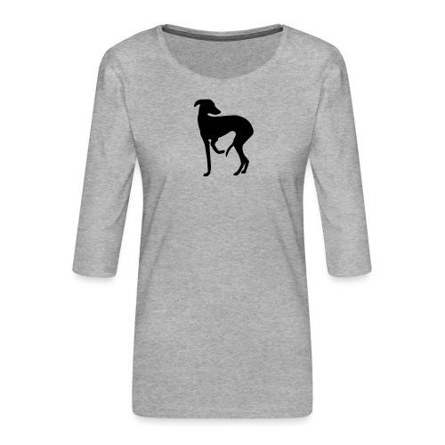 Windspiel - Frauen Premium 3/4-Arm Shirt