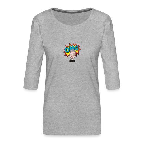 OMG! - Women's Premium 3/4-Sleeve T-Shirt