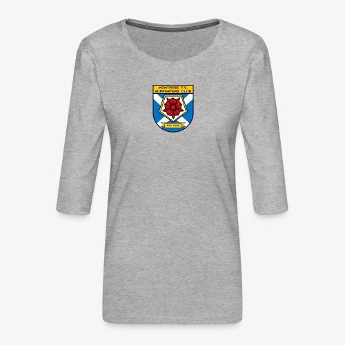 Montrose FC Supporters Club - Women's Premium 3/4-Sleeve T-Shirt