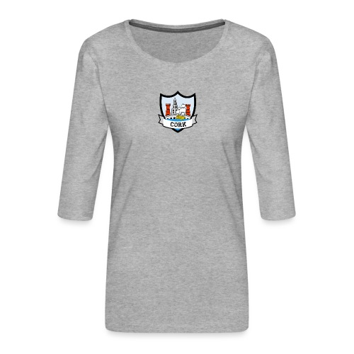 Cork - Eire Apparel - Women's Premium 3/4-Sleeve T-Shirt