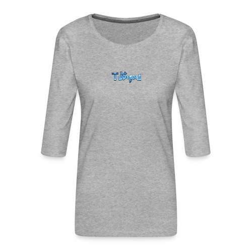 TJ SQUAD MERCH!!! - Women's Premium 3/4-Sleeve T-Shirt