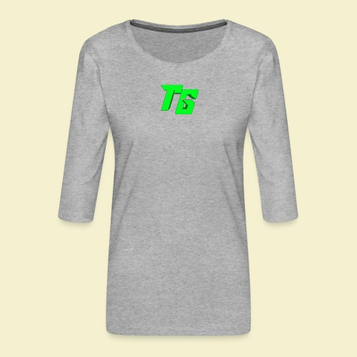 TristanGames logo merchandise - Vrouwen premium shirt 3/4-mouw