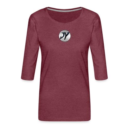 Logo Officiel - T-shirt Premium manches 3/4 Femme