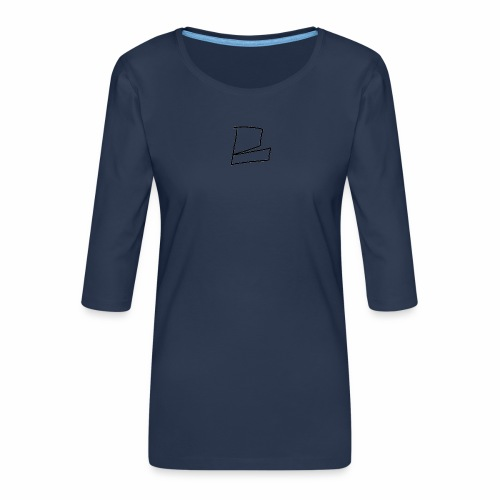 the original B - Women's Premium 3/4-Sleeve T-Shirt