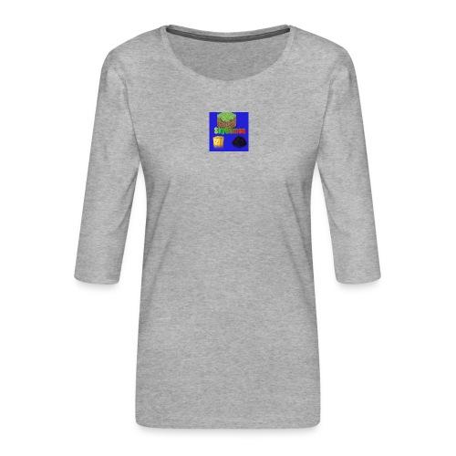 SkyGames - Vrouwen premium shirt 3/4-mouw