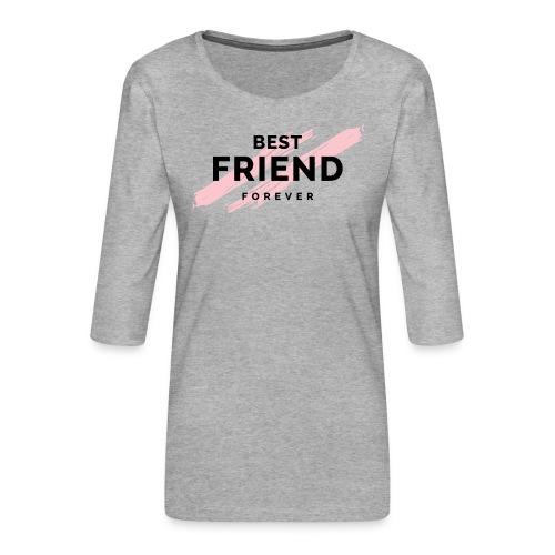 best friend forever - Koszulka damska Premium z rękawem 3/4
