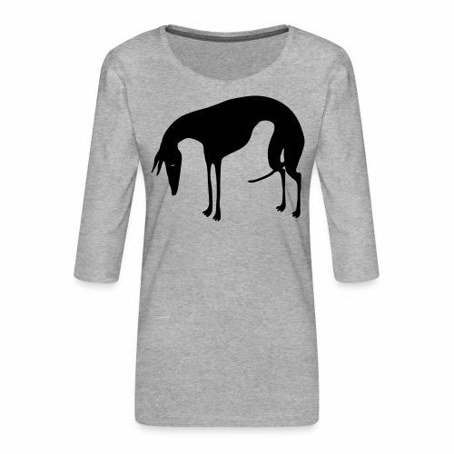 Sadepäivän Surku - Naisten premium 3/4-hihainen paita