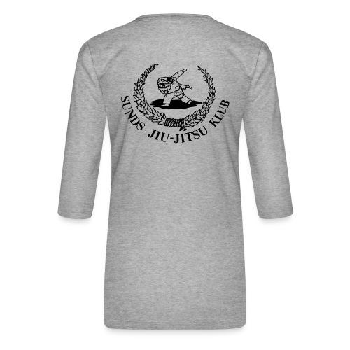 logo bagpå - Dame Premium shirt med 3/4-ærmer