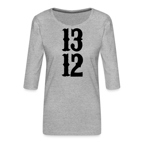 1312 - Frauen Premium 3/4-Arm Shirt