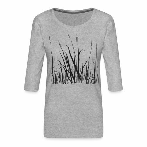 The grass is tall - Maglietta da donna premium con manica a 3/4