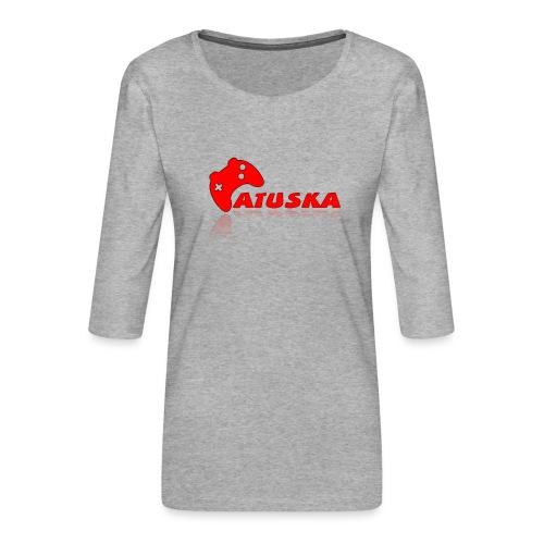 Atuska - Naisten premium 3/4-hihainen paita