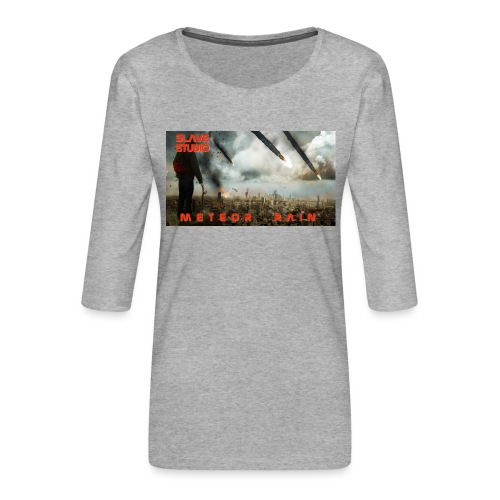 Meteor rain - Maglietta da donna premium con manica a 3/4
