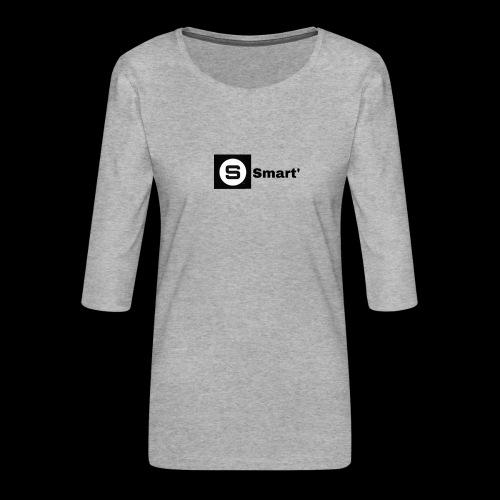 Smart' ORIGINAL - Women's Premium 3/4-Sleeve T-Shirt
