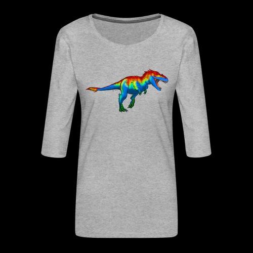 T-Rex - Women's Premium 3/4-Sleeve T-Shirt