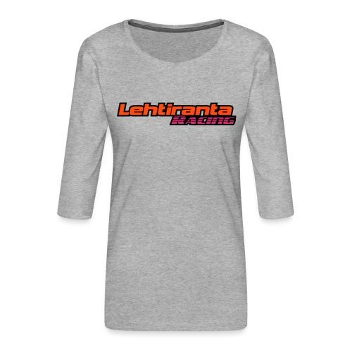 Lehtiranta racing - Naisten premium 3/4-hihainen paita