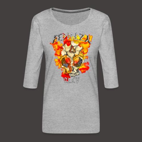 ALCHIMY: FIRE ELEMENT - T-shirt Premium manches 3/4 Femme