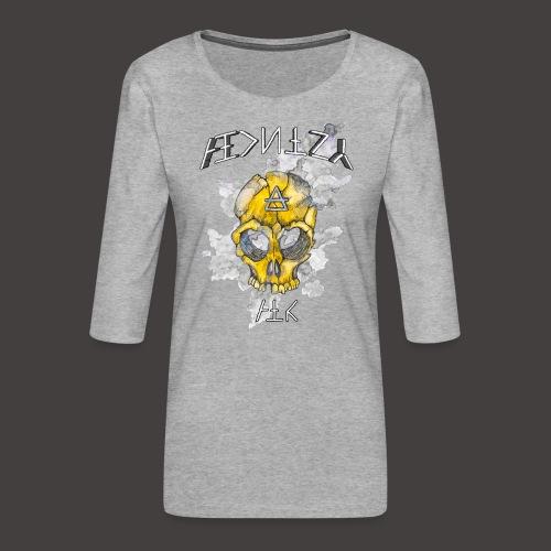 ALCHIMY: AIR ELEMENT - T-shirt Premium manches 3/4 Femme