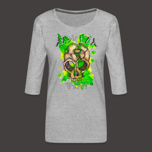 ALCHIMY: EARTH ELEMENT - T-shirt Premium manches 3/4 Femme