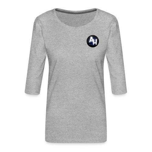gamel design - Dame Premium shirt med 3/4-ærmer