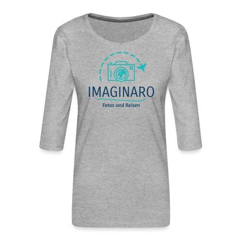 IMAGINARO | Fotos und Reisen - Frauen Premium 3/4-Arm Shirt