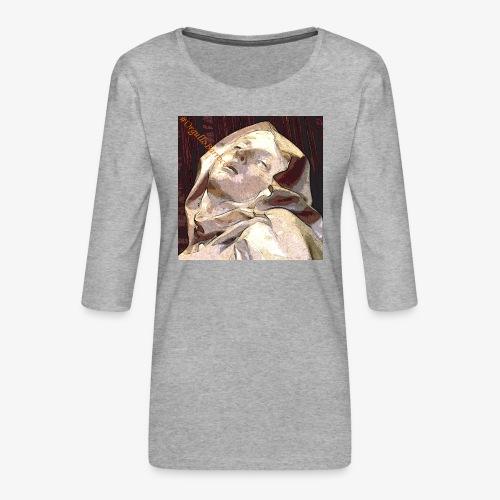 #OrgulloBarroco Teresa - Camiseta premium de manga 3/4 para mujer
