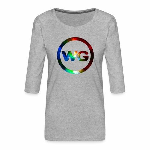 wout games - Vrouwen premium shirt 3/4-mouw