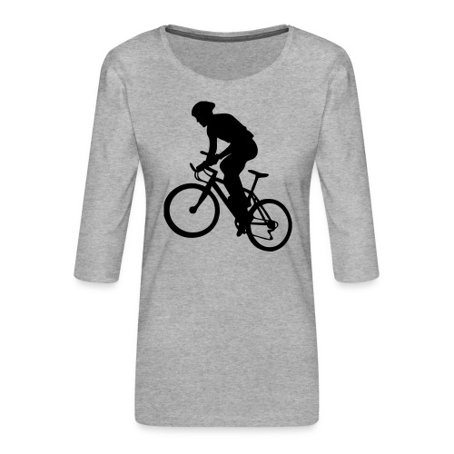 X-Country - T-shirt Premium manches 3/4 Femme
