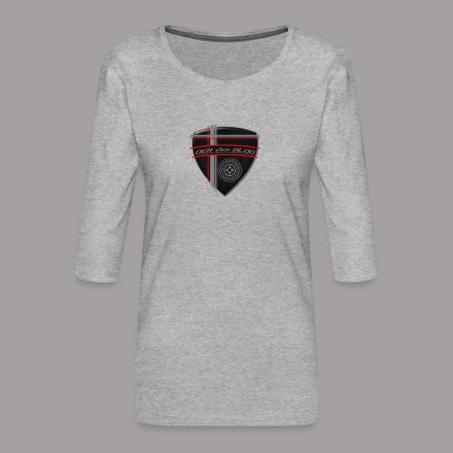 2erblogLogo blank png - Frauen Premium 3/4-Arm Shirt