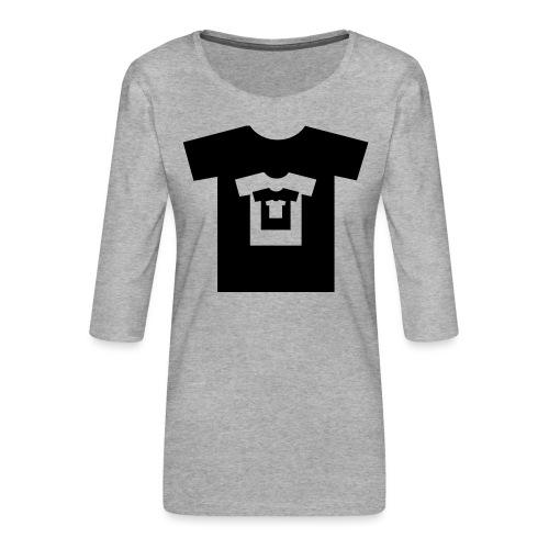 t-shirt récursif - T-shirt Premium manches 3/4 Femme
